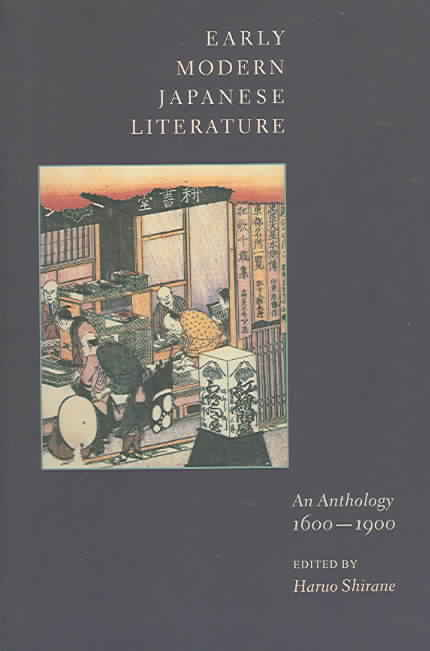 Early Modern Japanese Literature By Shirane, Haruo (EDT)